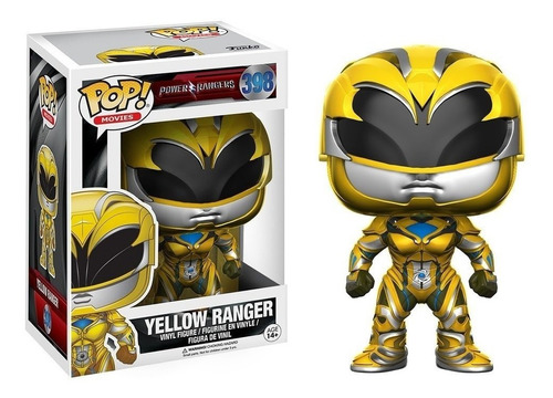 Funko Pop. Power Rangers- Yellow Ranger #398. Orig Purpura