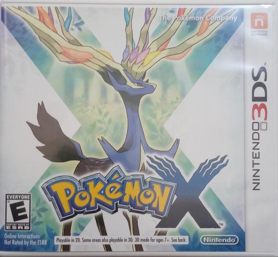 Pokemon X Nintendo 3ds Usado Envio Imediato