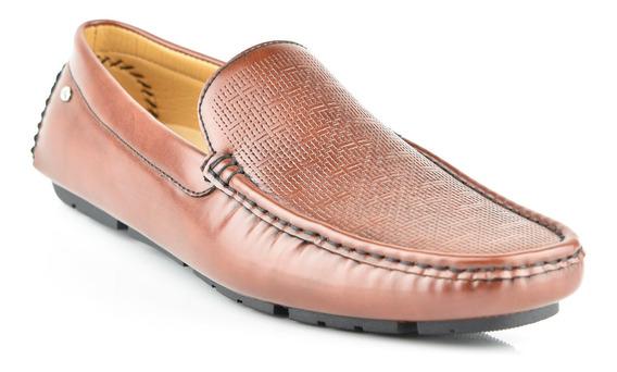 Zapato Tipo Mocasín Para Hombre Lob Footwear 524-9501 Marrón Nuevo Oi19