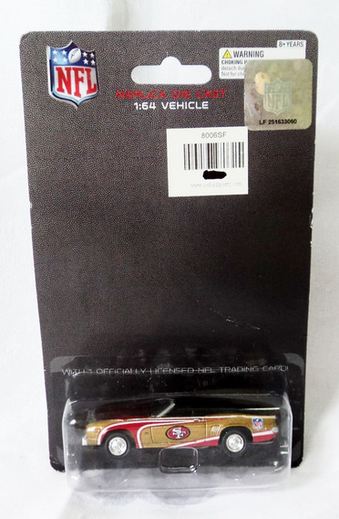 Greenlight 1:64 Escala Nfl Sf 1969 Chevy Camaro En Blister