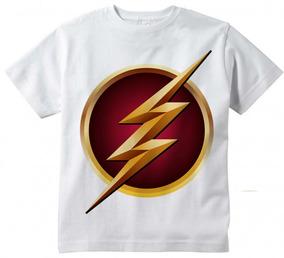 b9bd35de5 Camiseta The Flash Infantil - Calçados