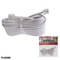 Trisonic 25 Pies. Cable De Extensión Modular Ts-825bhw