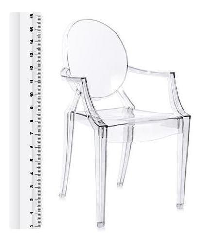Mini Cadeira Sophia Decoração Incolor