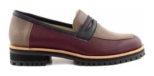 Mocasin Zapato Mujer Cuero Briganti Zapatos - Mcmo03634