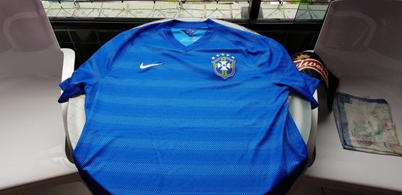 Camisa Seleção Brasileira Oficial Xl Original Usada Uma Vez