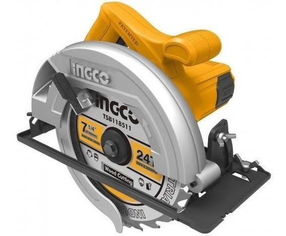 Sierra Circular Mano 7¼ 1200w Ingco Cs18518 Ynter Industrial