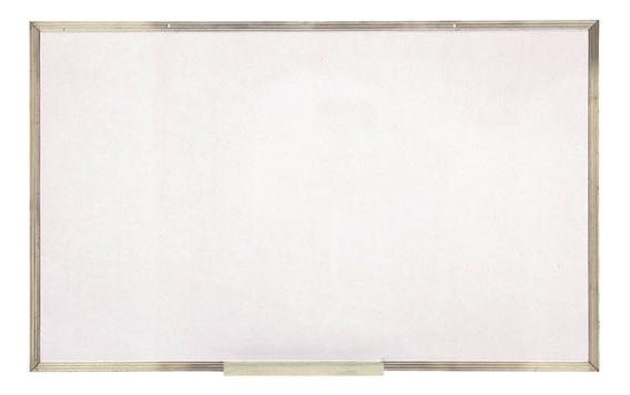 Quadro Lousa Branco 120x200cm Xalingo Moldura Alumínio