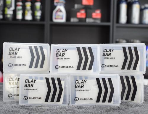 Clay Bar Go4detail Barra Descontaminante Grado Medio 100 Gr