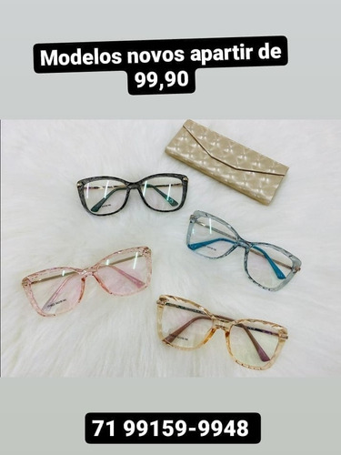 Óculos De Grau/ Exame Grátis