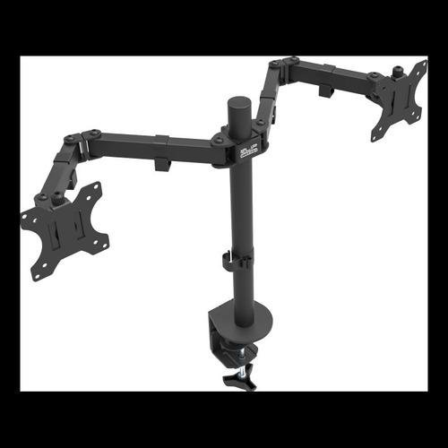 Base Para Monitor Lcd Klipx Doble, Para Dos Monitores, 13-32