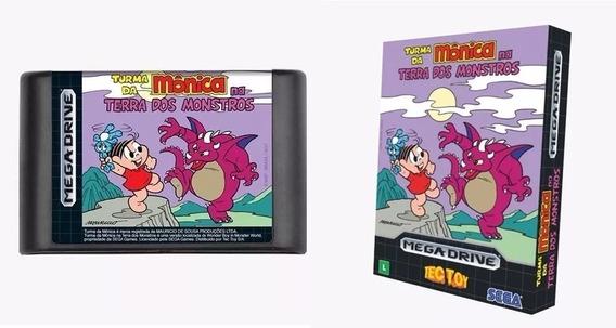 Cartucho Turma Da Mônica De Mega Drive, Original E Lacrado