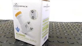 Lnb Universal Duplo Original Powerpack 2 Saidas Alto Ganho