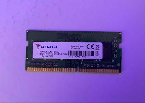 Memoria Ram 4gb Adata 2666mhz