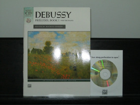 Debussy - Préludes, Book I For The Piano + Cd