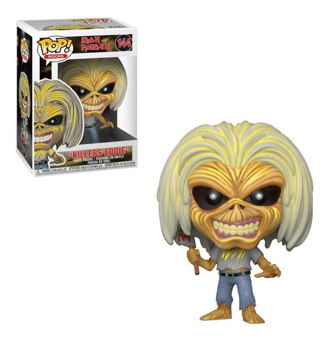 Funko Pop Figura Iron Maiden Killers Eddie Int 45980 Orig