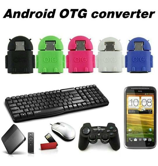 Mini Gadget Adptador Para Celular - Android Otg Converter