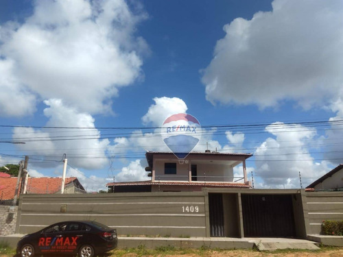 Excelente Casa Com 3 Dormitórios, Com Closet E Piscina À Venda, 577m² - San Vale - Natal/rn. - Ca0139