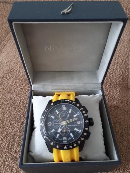 Relógio Náutica N18599g Amarelo