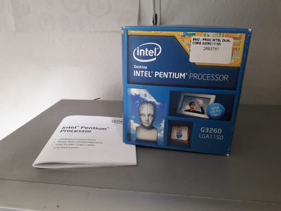 Processador Pentium G3260 3.3 Ghz Usado
