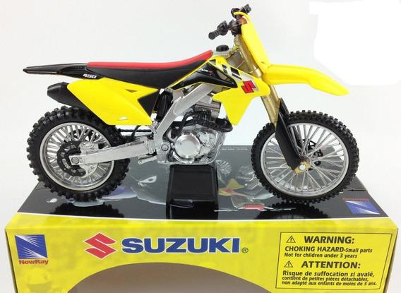 Moto Motocross Suzuki Rm-z450 1:12 .. En Magimundo !!!