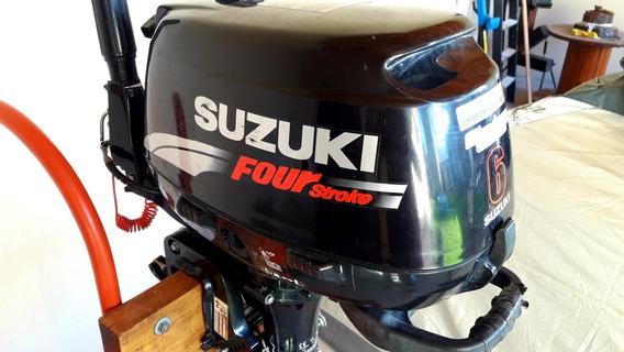 Motor Suzuki 6hp 4t Muy Buen Estado!!!
