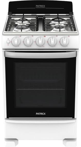 Cocina Bigas 55cm 4 Hornallas Cp6855b Patrick