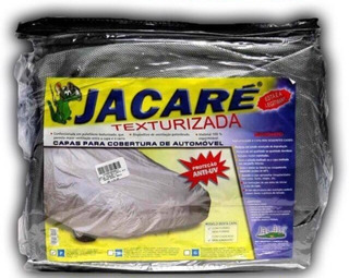Capa P/ Carro Jacaré 100% Impermeável/ Forrada P M Ou G
