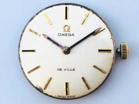 Máquina Suíça Relógio Pulso Omega De Ville A Corda Cal 620