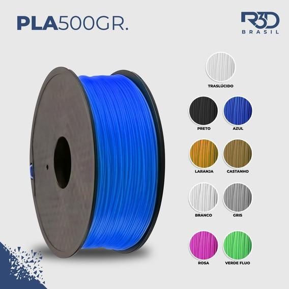 Filamento 3d Pla Premium Pink 500gr 1,75mm Nova Formula #r3d