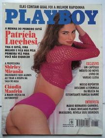 Revista Playboy Patricia Lucchesi - Edição 232