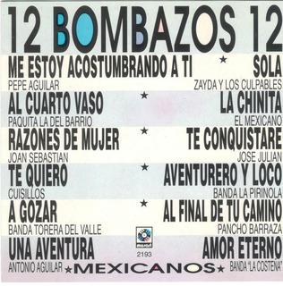 12 Bombazos Mexicanos.