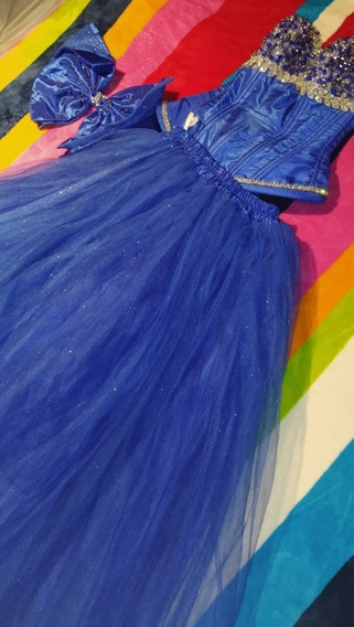 Vestido De Xv Azul Rey