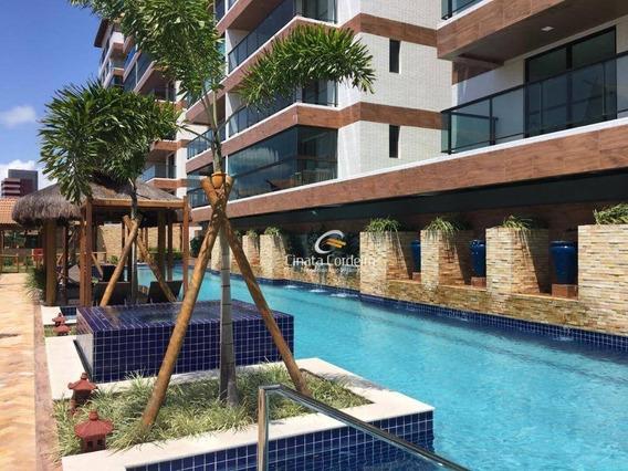 Cobertura Com 3 Dormitórios À Venda, 274 M² Por R$ 1.550.000,00 - Camboinha - Cabedelo/pb - Co0060