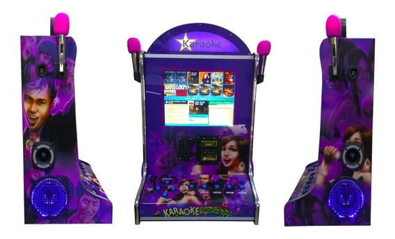 Maquina De Musica Jukebox Videoke Karaoke 17 Po Wa Diversoes