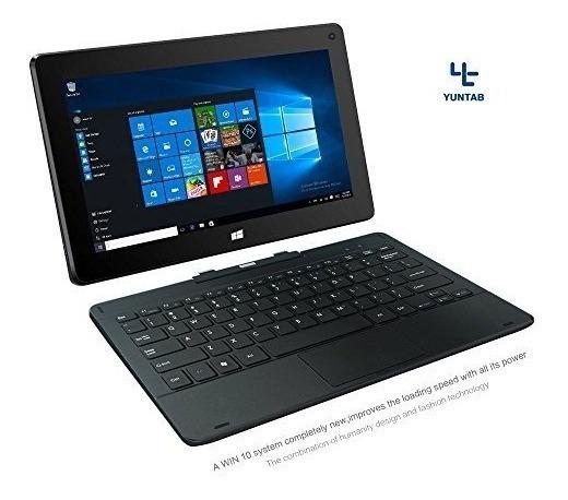 Yuntab H8 11.6 Pulgadas Windows Intel Tablet Pc 32g Quad Cor