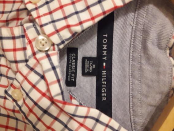 Camisa Tommy Hilfiger Nueva !!