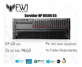 Servidor Hp Dl580 G5 / 4x Xeon Quadcore / 64gb Ram