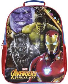Mochila Tam G Avengers Vingadores Original 8482
