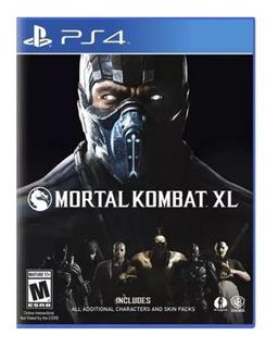 Ps4 Juego Mortal Kombat Xl, Nuevo Y Sellado.