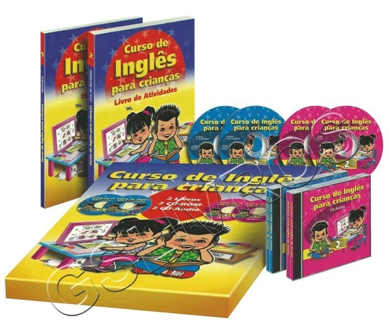 Coleção Inglês Para Crianças + Brinde