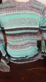 Blusa De Frio Detalhe Jacar Linha Outono E Inverno