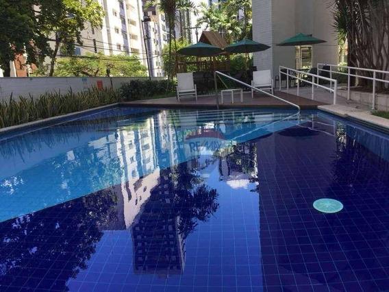 Apartamento Com 1 Dormitório Para Alugar, 43 M² Por R$ 2.000,00/mês - Boa Viagem - Recife/pe - Ap0917
