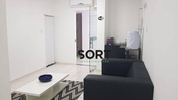 Sala Comercial Para Locação, Mobiliado , Balneário Camboriú - Sa0039