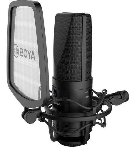Microfono Boya By-m1000 Condenser Para Estudio Tipo Rode Nt