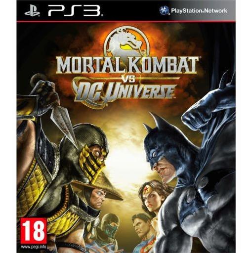 Mortal Kombat Vs Dc Universe Ps3 Jogos Luta Digital Promoção