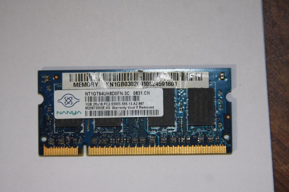 Memoria Ram Notebook 1gb Ddr2 5300 Nanya
