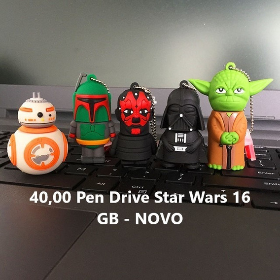 Pen Drive Star Wars 16 Gb - Novo