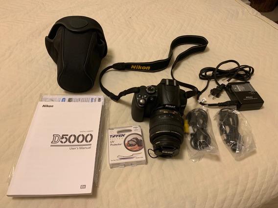 Câmera Nikon D5000 Pouquíssimo Uso, Apenas 4.149 Clicks