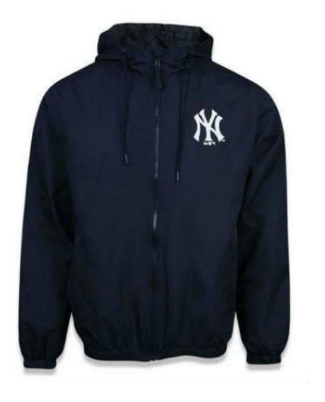 Jaqueta Corta Vento New Era Windbreak New York Yankees