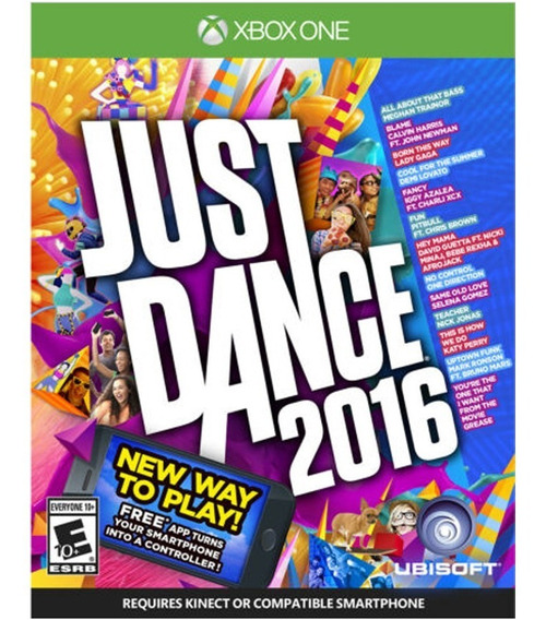 Just Dance 2016 - Mídia Fisica - Xbox One